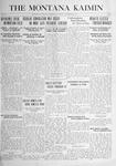 The Montana Kaimin, September 21, 1916