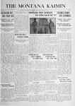 The Montana Kaimin, October 5, 1916