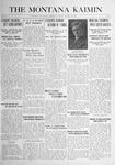 The Montana Kaimin, October 12, 1916