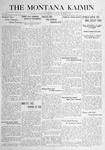 The Montana Kaimin, November 2, 1916