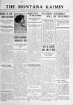 The Montana Kaimin, November 16, 1916