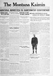 The Montana Kaimin, December 5, 1916