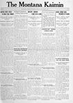 The Montana Kaimin, December 14, 1916