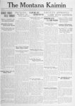 The Montana Kaimin, December 19, 1916