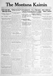 The Montana Kaimin, January 9, 1917