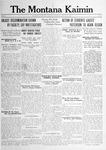 The Montana Kaimin, January 11, 1917