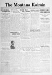 The Montana Kaimin, January 16, 1917