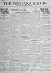 The Montana Kaimin, January 25, 1917
