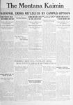 The Montana Kaimin, February 6, 1917