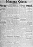 Montana Kaimin, May 22, 1917