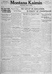 Montana Kaimin, May 24, 1917