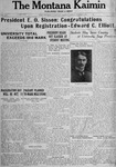 The Montana Kaimin, October 2, 1917
