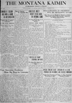 The Montana Kaimin, October 9, 1917