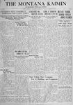 The Montana Kaimin, October 18, 1917