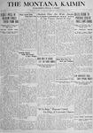 The Montana Kaimin, October 23, 1917
