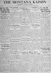 The Montana Kaimin, October 25, 1917