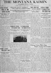 The Montana Kaimin, October 30, 1917