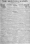The Montana Kaimin, November 2, 1917
