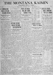 The Montana Kaimin, November 9, 1917