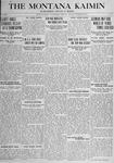 The Montana Kaimin, November 20, 1917