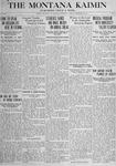 The Montana Kaimin, November 23, 1917