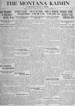 The Montana Kaimin, December 7, 1917
