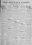 The Montana Kaimin, December 14, 1917