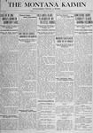 The Montana Kaimin, December 18, 1917
