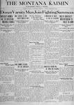 The Montana Kaimin, December 20, 1917