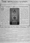 The Montana Kaimin, December 21, 1917