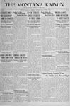 The Montana Kaimin, January 4, 1918