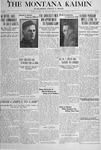 The Montana Kaimin, January 8, 1918