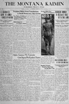 The Montana Kaimin, January 11, 1918