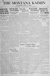 The Montana Kaimin, January 22, 1918