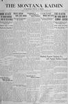 The Montana Kaimin, January 29, 1918