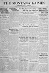 The Montana Kaimin, February 1, 1918