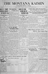 The Montana Kaimin, February 5, 1918