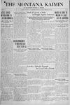 The Montana Kaimin, February 12, 1918