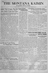 The Montana Kaimin, February 19, 1918