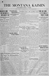 The Montana Kaimin, February 22, 1918