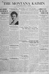 The Montana Kaimin, March 8, 1918