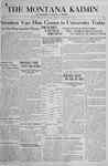 The Montana Kaimin, March 15, 1918