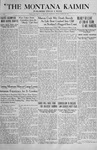 The Montana Kaimin, March 22, 1918