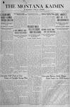 The Montana Kaimin, March 29, 1918