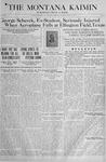 The Montana Kaimin, April 2, 1918