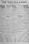 The Montana Kaimin, April 5, 1918