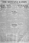 The Montana Kaimin, April 9, 1918