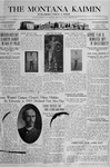 The Montana Kaimin, April 12, 1918