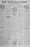The Montana Kaimin, April 16, 1918