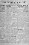 The Montana Kaimin, April 19, 1918